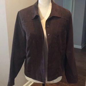 Bechamel jacket Medium. Embroidery.Button up. EUC